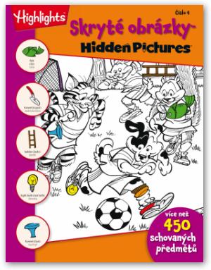 Skryté obrázky - Hidden Pictures č. 4