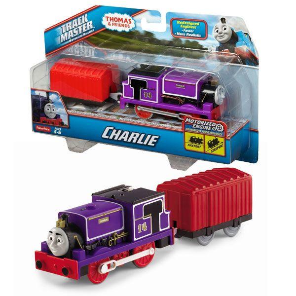 Mattel Mašinka Tomáš Fisher Price motorizované mašinky CHARLIE