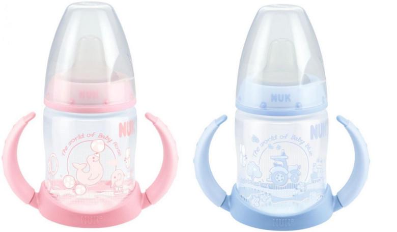 First Choice lahvička na učení PP Růžová & Modrá, 150ml