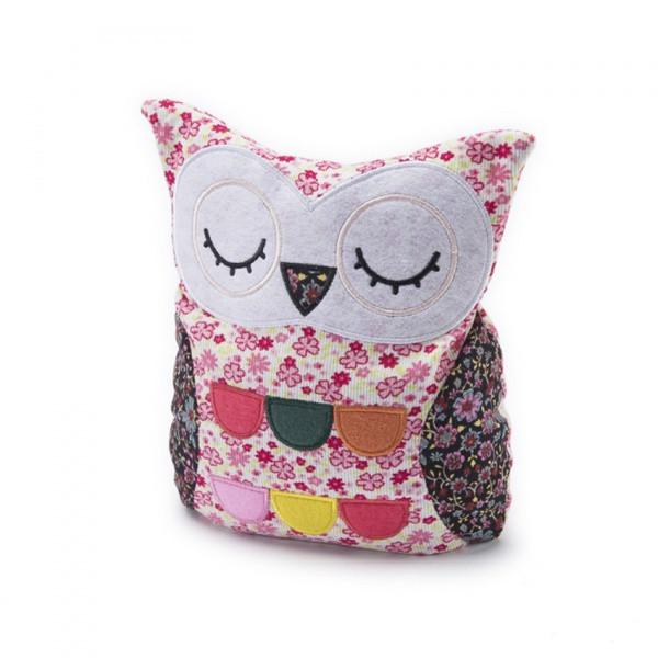 Albi - Hřejivá patchwork spící sova