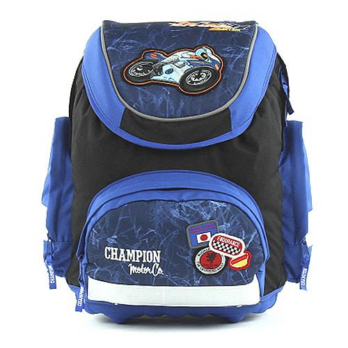 Školní batoh Fashion Line - Motorka Champion
