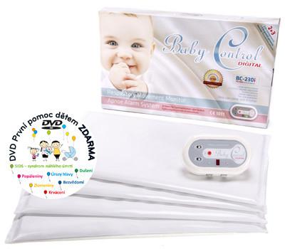 Baby Control Baby Control Digital monitor dechu BC230i pro dvojčata