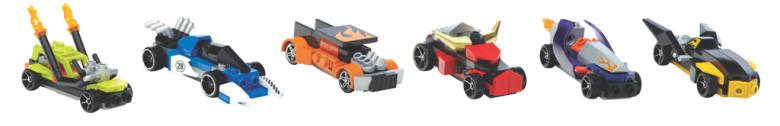 Mega Bloks Mega Bloks Hot Wheels 3v1 angličák
