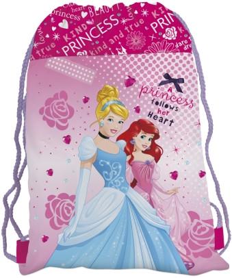 Sáček (nejen) na cvičky Princess 2015