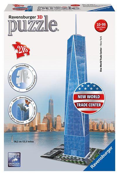 Puzzle Trade Center 3D 216 dílků