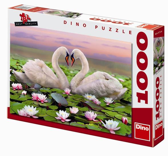 Puzzle Labutě 66 x 47 cm 1000 dílků