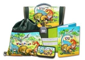 Školní aktovkový set Dinopark 4-dílný Emipo