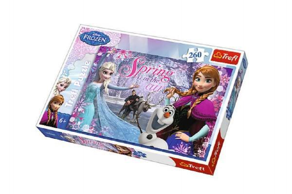 Puzzle Ledové království/Frozen 260 dílků 60x40cm