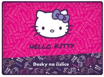 Desky na číslice Hello Kitty Kids
