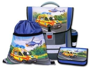 Školní aktovkový set Záchranáři 3-dílný Emipo