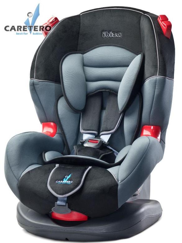 Autosedačka Caretero Ibiza 9 - 25 kg New graphite 2016