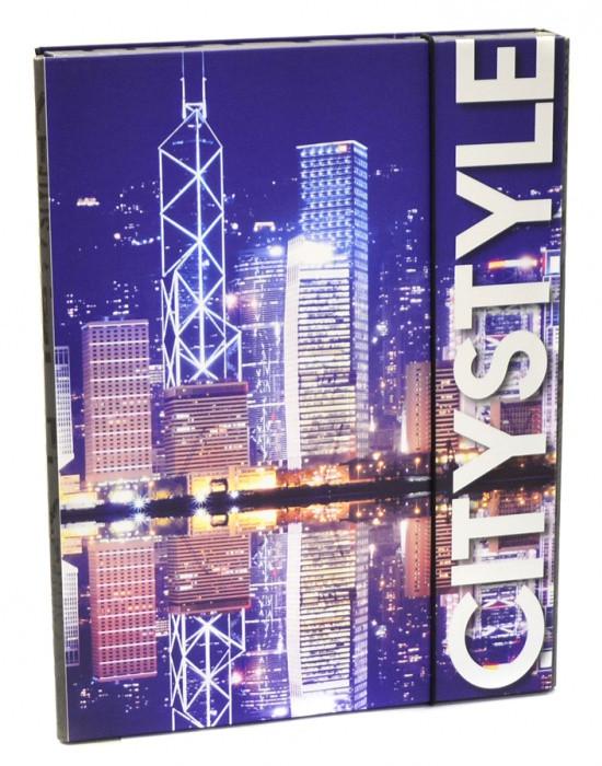 Heft box A4 Jumbo style - City Hongkong