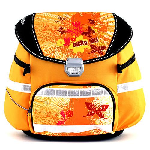 Školní batoh Leasyn - Lucky Girl - motýlci