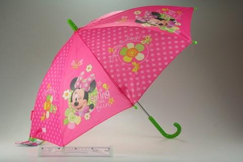 Deštník Minnie růžový