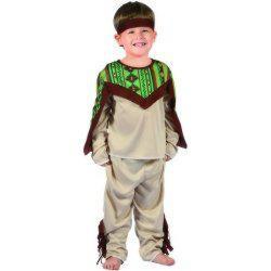 Karnevalový kostým - Indián, Vel. 92 - 104 cm