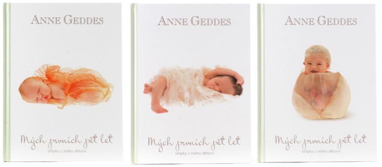 Kniha Mých Prvních Pět Let Anne Geddes