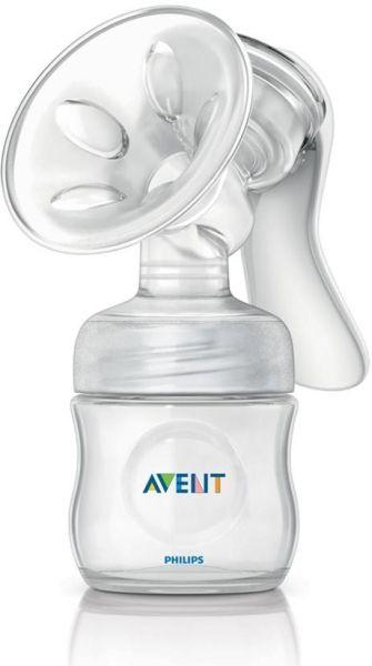 Avent Manuální odsávačka mléka Natural+zásobník 125ml PP AVENT