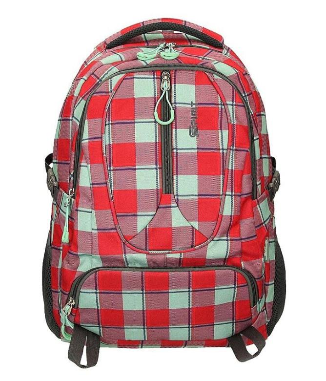 357794a3f9 Studentský batoh SPIRIT WIZZARD 05 červená Emipo