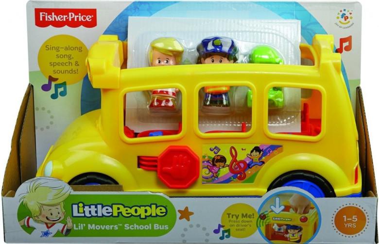 Fisher Price LP hrající školní autobus