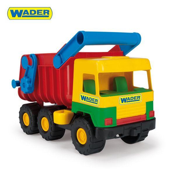 Auto middle truck sklápěč 38 cm Wader