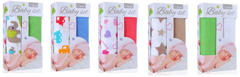 Baby set - bambusové osušky