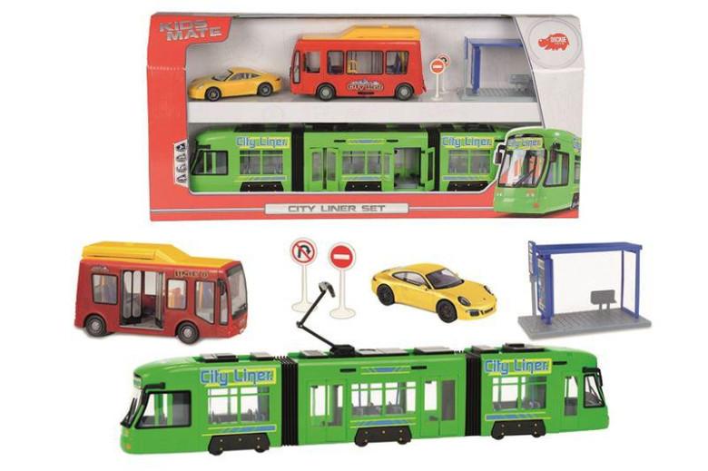 Set městské dopravní prostředky