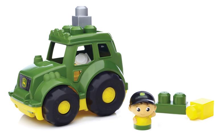 Mega Bloks Mega Bloks John Deere traktor