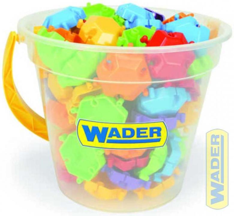 Kostky puzzle 88 ks v kyblíku Wader