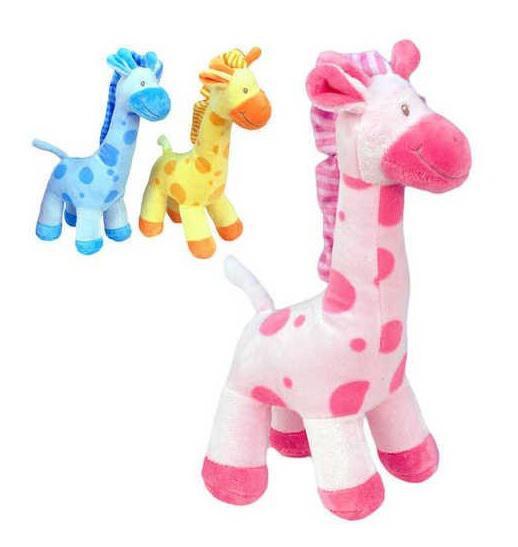 Plyšová žirafa stojící 22 cm, vhodné od narození