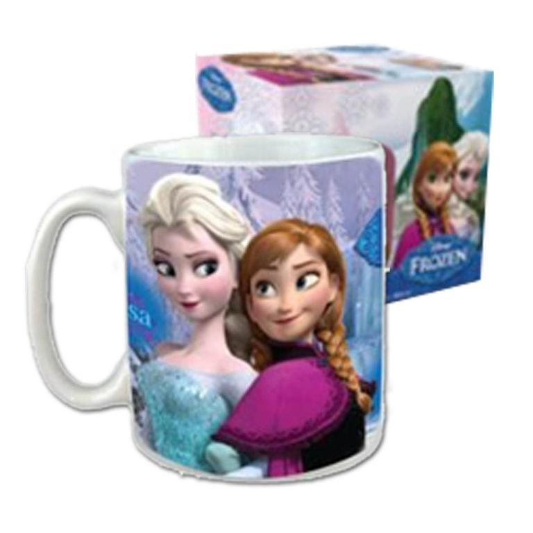 Hrneček Frozen Anna a Elsa nezobra