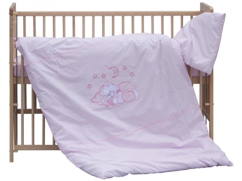 Dětské povlečení 2dílné - Scarlett Měsíček - růžové 100 x 135 cm