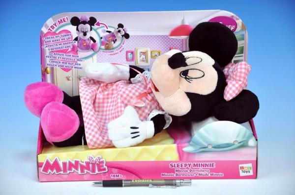 Minnie plyšová spící
