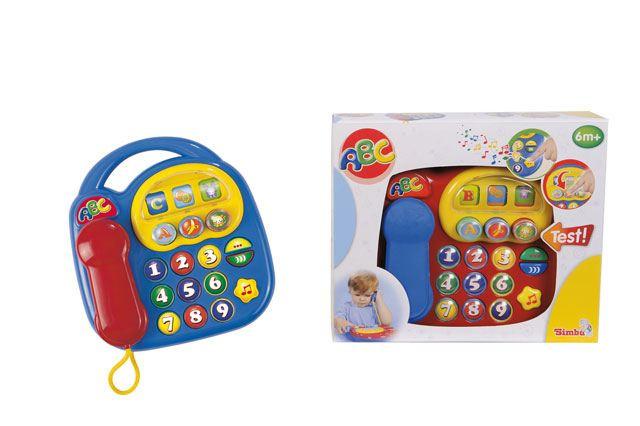 Baby telefon na baterie 20 x 20 cm