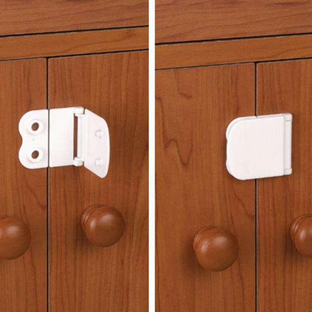 Bezpečnostní zámek na skříně, 4 ks
