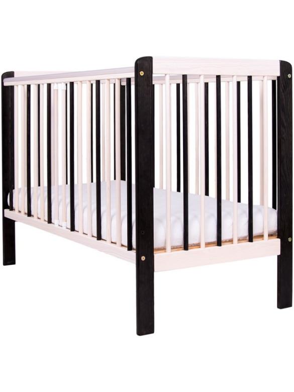 Dětská postýlka Drewex Zebra přírodní