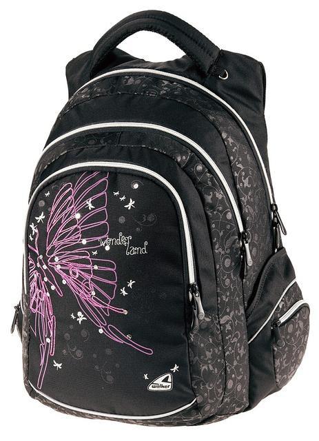 Walker Školní batoh Wonderland