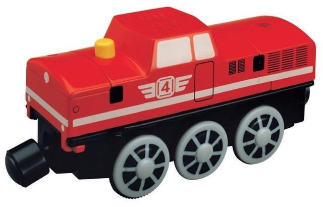 Maxim Maxim Elektrická lokomotiva červená