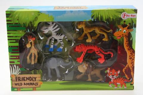 Zvířata divoká veselá