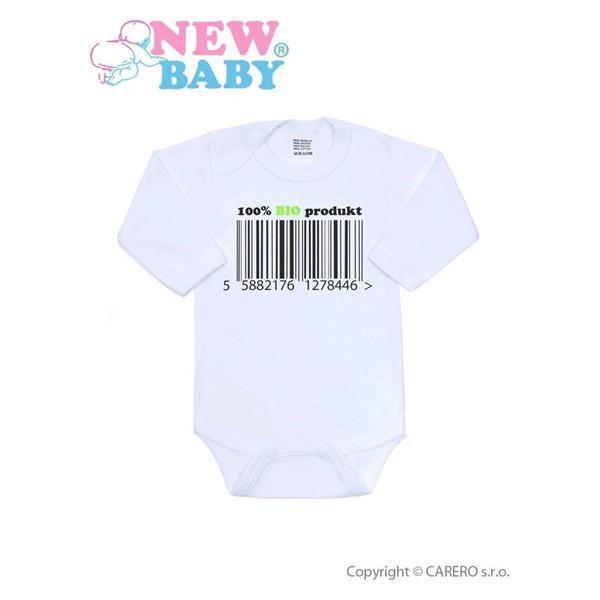 Body s potiskem New Baby 100 procent BIO produkt