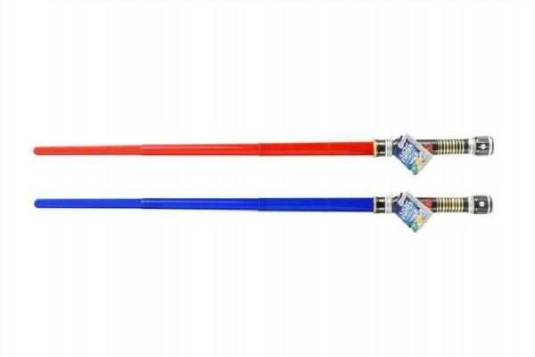 Svítící meč plast 48 cm se světlem a zvukem