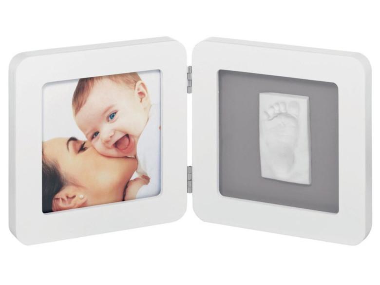 Baby Art Rámeček Print Frame White & Grey