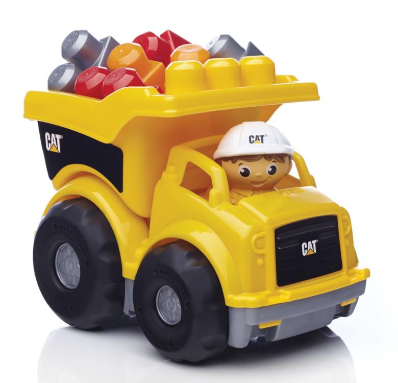Mega Bloks CAT náklaďák nezobra