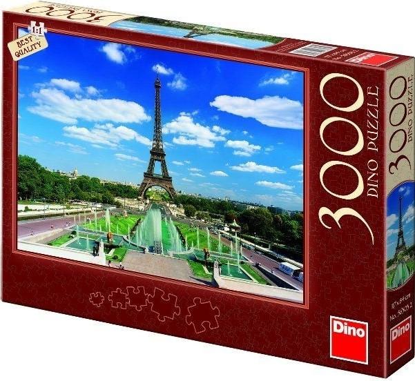 Puzzle Eiffelova 117x84cm 3000 dílků
