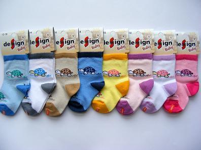 Kojenecké ponožky želvička 12 -18 m