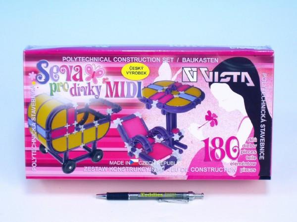Stavebnice Seva pro dívky MIDI 180 dílů  332b28dbd9