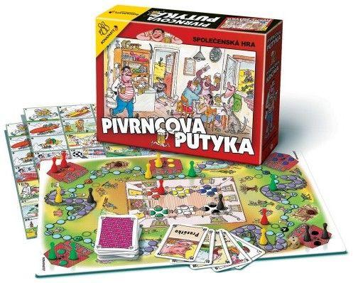 Společenská hra Pivrncova Putyka