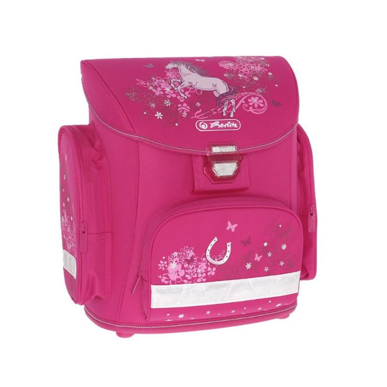 Školní batoh Herlitz Midi Kůň růžový  41f6a35c63