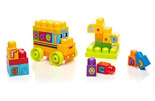 Mega Bloks First Builders školní ABC autobus
