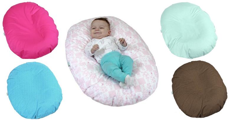 Babyrenka Kojenecký relaxační polštář- pelíšek