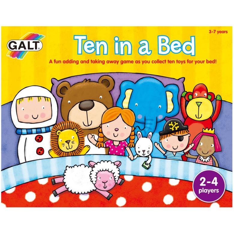 10 v posteli - hra
